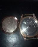 """Часы золотые """"полёт""""23 камня, фото №3"""