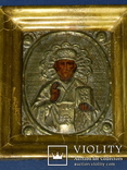 Миколай чюдотворець 20см на 17см товщ 5.5 см, фото №12