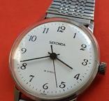 Часы SEKONDA  19 jewels  USSR, фото №3