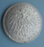 5 марок, 1896 год, Гамбург,, фото №5