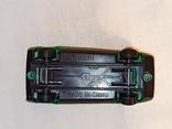 Модель, моделька зелёного гоночного автомобиля., фото №6