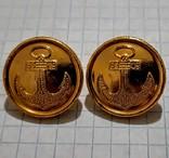 Пуговицы морские флот СССР 1983, фото №6