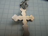 Серебрянная цепочка с крестиком, фото №12