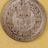 Румыния,1932 г.,100 лей, фото №3