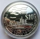Набор монет 10, 250 и 500 долларов. Сингапур., фото №9