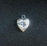 Старинный кулон сердечко. Клеймо «А», фото №2