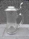 Пивная кружка Cтекло  0,5 L Европа, фото №5