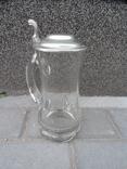 Пивная кружка Cтекло  0,5 L Европа, фото №10