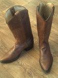 Кожаные вестерн  сапоги (USA) разм.40, фото №2