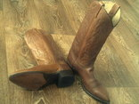 Кожаные вестерн  сапоги (USA) разм.40, фото №8