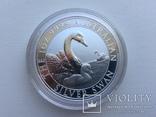Лебедь Австралии 2019 Swan Серебро, фото №2