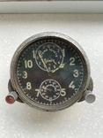 Авиационные часы АЧХ с позолоченным механизмом, фото №2