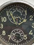 Авиационные часы АЧХ с позолоченным механизмом, фото №3