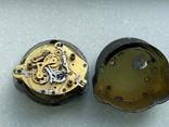 Авиационные часы АЧХ с позолоченным механизмом, фото №13