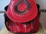 Рюкзак.кожа, фото №3