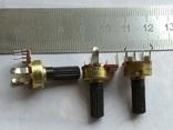 Резистор змінний В100К, 10шт, новий, фото №2