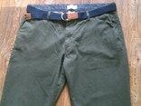 Teilor плотные котон штаны + ремень Gant, фото №3