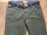 Teilor плотные котон штаны + ремень Gant, фото №5