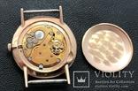 Золотые часы Луч на Героя СССР в честь 20 лет победы в ВОВ. На ходу, фото №9