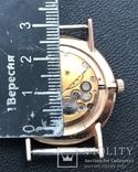 Золотые часы Луч на Героя СССР в честь 20 лет победы в ВОВ. На ходу, фото №11