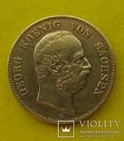 2 марки, Саксония, 1903 год., фото №2