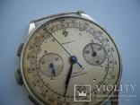 Швейцария,золото,хронограф на ходу, фото №3
