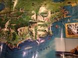 """Сувенирная карта """"Крым - достопримечательности"""", туристская карта """"Севастополь"""", 2004 г., фото №5"""