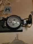 Армейский компас Lensatic (пластик, олива), фото №3