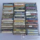 Аудио кассеты 56 шт, фото №2