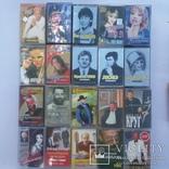 Аудио кассеты 56 шт, фото №4