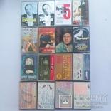 Аудио кассеты 56 шт, фото №5