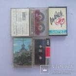 Аудио кассеты 56 шт, фото №6