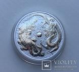 Дракон и Тигр 2018 Австралия Perth Mint, фото №3