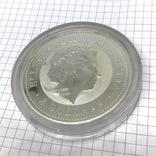 Инвестиционная монета серебро 999 Elizabeth II Australia 8 Dollars 5 oz Silver Coin, фото №5
