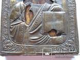 Икона Вседержитель в окладе 22 на 17 см, фото №6