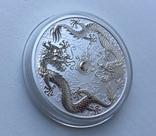 Два дракона 2019 Австралия Perth Mint, фото №5