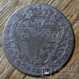 Архиепископство Кёльн 1/6 талера 1754 г., фото №3