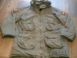 Fresh Oklahoma - куртка штурмовка с бафом камуфляж, фото №5