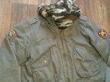 Fresh Oklahoma - куртка штурмовка с бафом камуфляж, фото №2