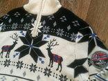 Nebulus - фирменный стильный теплый свитер разм.XXL, фото №4