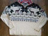 Nebulus - фирменный стильный теплый свитер разм.XXL, фото №5