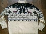 Nebulus - фирменный стильный теплый свитер разм.XXL, фото №10