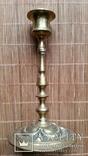 Свічник бронзовий, 16 см, фото №2