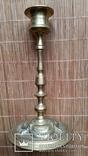 Свічник бронзовий, 16 см, фото №4