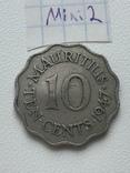 Маврикій 10 центів, 1947, фото №3