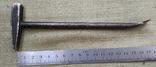 Молоток миниатюрный с гвоздодером, фото №2