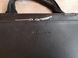 Сумка мужская портфель дипломат, фото №3