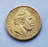 20 марок 1883 года. Пруссия., фото №3