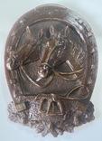 Панно  лошади подкова, фото №2