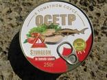 Осетр в томатном соусе, фото №2